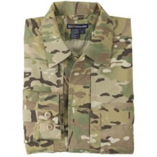 5.11 MultiCam TDU Shirt - Long Sleeve, Ripstop (72013)
