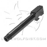 Lone Wolf Barrel M17 9mm Threaded 1/2 x 28  Black (128mm)