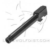 Lone Wolf Barrel M17 9mm Threaded 1/2 x 28  Black (128mm)