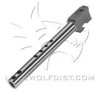 Lone Wolf Barrel M/34 9mm 6 Port