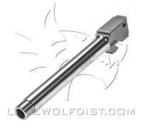 Lone Wolf Barrel M/34 9mm Threaded 1/2 x 28 (148mm)