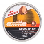 H&N Excite Smart Shot Copper Plated Lead BBs (750)