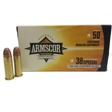 Armscor Ammunition 38 Special 158GN Copper Clad (50)
