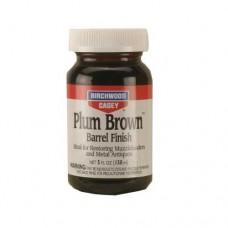 Birchwood Casey Plum Brown Barrel Finish 5oz