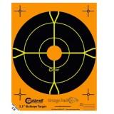 "Caldwell Orange Peel Targets 8"" Self-Adhesive Bullseye (10)"