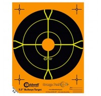 "Caldwell Orange Peel Targets 8"" Self-Adhesive Bullseye (10)"