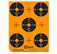 "Caldwell Orange Peel Targets 2"" Self-Adhesive Bullseye (10)"
