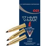 CCI Ammunition 17 Hornady Magnum Rimfire (HMR) 17GN Hornady V-Max (50)