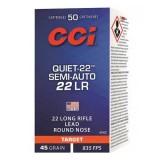 CCI Quiet 22 Semi-Auto Subsonic 45GN Lead Round Nose (50)