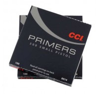 CCI Small Pistol Primers #500 (1000)