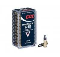 CCI Ammunition 22 Long Suppressor 45GN Hollow Point (50)