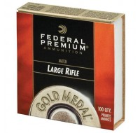 Federal Premium Gold Medal Large Rifle Match Primers #210M (1000)