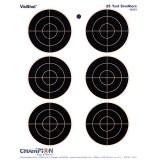 """Champion Target Visishot 6-3"""" Bulls Eye (10)"""