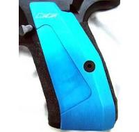 CZ Long Aluminium Skateboard Grips 75 / 85 / SP-01 - Blue