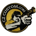 CZ Custom Embroidered Cloth Patch 3""