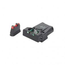LPA Adjustable Fibre Optics Sport Sight Set CZ 75 SP-01 Shadow - SHADOW2