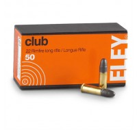 ELEY 22LR Club Ammunition (50)