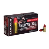 Federal American Eagle Ammunition 9MM 115GN TSJ Syntech Jacket (50)