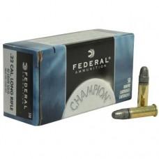 Federal Ammunition 22 Long Rifle 40GN HV Champion (50)