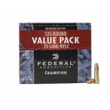 Federal Ammunition 22 Long Rifle 36GN HP HV Champion (525)