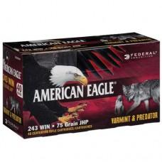 Federal Ammunition .243 Win 75GN Speer JHP Varmint (40)