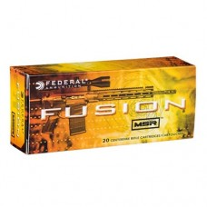 Federal Fusion MSR Ammunition 300 AAC Blackout 150 GN Spitzer Boat Tail (20)