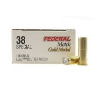 Federal American Eagle Ammunition 38 Special 148GN LWC (50)