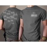 Hardcore Hardware Australia Grey Hatch T-Shirt