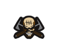 Hardcore Hardware Australia Morale Patch 2012 Skull