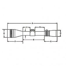 Leupold Optics VX-1 Rifle Scope 3-9x40mm Matte Duplex