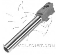 "Lone Wolf Barrel M/20T 10mm Tactical Length 5.15"" (130mm)"