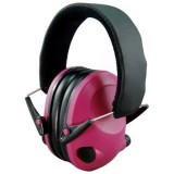 Night Prowler Electronic Pink Earmuffs