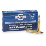 PPU Ammunition 223 Rem 55gn SP (20)