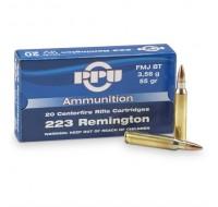 PPU Ammunition 223 Rem 55gn SP (20)