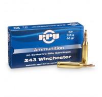 PPU Ammunition 243 Win 90gn SP (20)