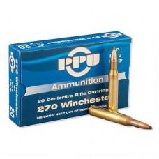 PPU Ammunition 270 Win 130gn SP (20)