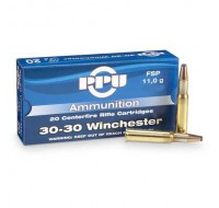 PPU Ammunition 30-30 Win 150gn FNSP (20)