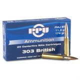 PPU Ammunition 303 British 180gn SP (20)
