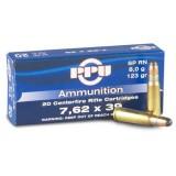 PPU Ammunition 7.62x39 123gn PSP (20)
