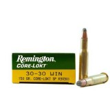 Remington 30-30 Winchester Soft Point Core-Lokt 150 GN (20)