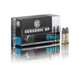 RWS Ammunition 22 Long Rifle 40GN Subsonic HP (50)