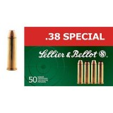 Sellier and Bellot 158GN 38 Special SP (50)