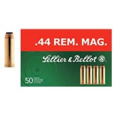 Sellier & Bellot 44 Magnum  240GN Soft Point Ammunition (50)
