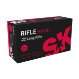SK Rifle Match  22LR 40GN 1050FPS (500)
