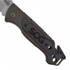 SOG SL3 Folding Knife With Whistle & Firestarter