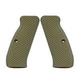 VZ Grips Diamond Army Green (AGGRESSIVE) Full Size G10
