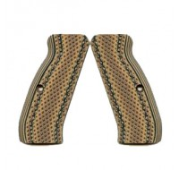 VZ Grips Diamond Hyena Brown (AGGRESSIVE) Full Size G10