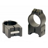 "Warne Scope Rings 1"" PA High Matte"