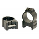 "Warne Scope Rings 1"" PA Medium Matte"