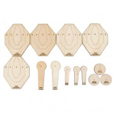 Waterfall Wood QQ IPSC Target Set
